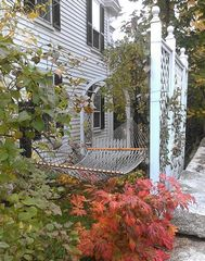 Kennebunkport house photo - Enjoy a relaxing nap in the hammock.