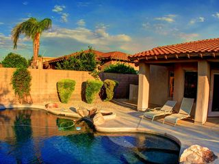 Scottsdale house photo - Pool and Lounge area
