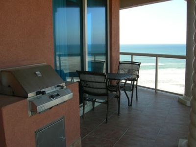 Grill Station...while  looking at the Gulf