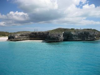 Cliff diving anyone? Nearby Ridley Head is the place for cliff diving. - Spanish Wells villa vacation rental photo