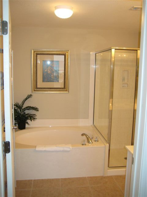 Garden Tub in Master Bath, with Adjacent Shower!