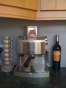 County Down apartment rental - Coffee maker