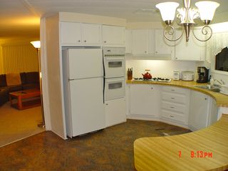 Green Valley mobile home photo - Kitchen with Gas Double Oven and cook top - all appliances and storage