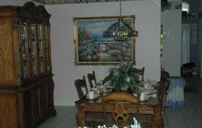 eloquent dinning room for you and your guests