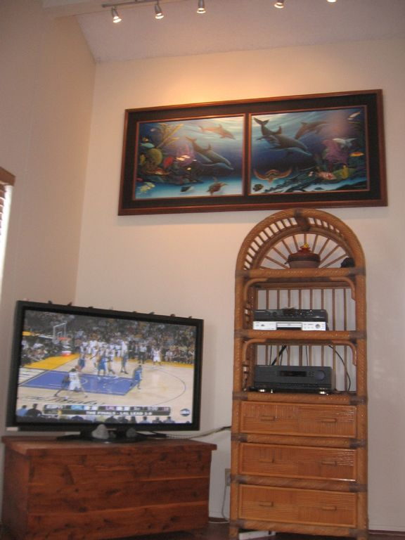 Living room towards TV