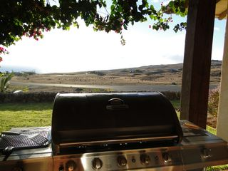 Kohala Ranch house photo - The view from the Grill.