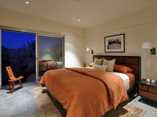 Yucca Valley house photo - A California king bed in one bedroom (queen in the other). (Nuvue Interactive)