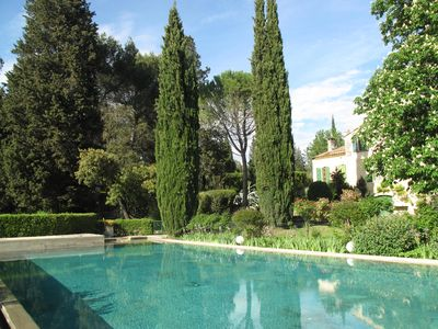 Provencal farmhouse in the countryside