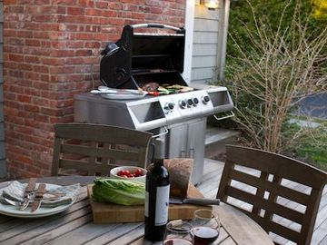 Invite your friends for a BBQ - ask our concierge and we can do it all for you!
