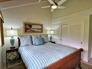 Kahana condo photo - Main Level Bedroom is fully private and features California king bed, HDTV.