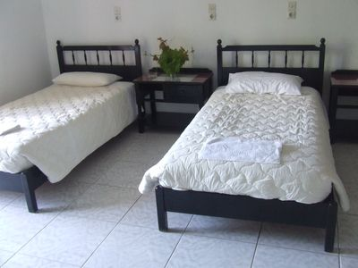 Agios Ioannis hotel rental - Twin bedroom studio