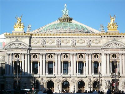 The Opera, a very short walk from Haussmann85.