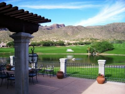 View of the Golf Course from AZ National Clubhouse