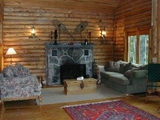 Quechee cabin rental - Great Room