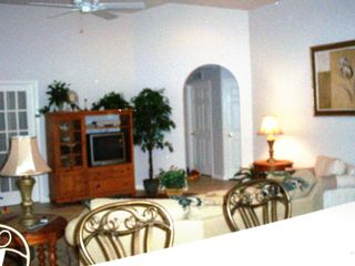 Vacation Homes in Marco Island house photo - Great Room with French doors to den