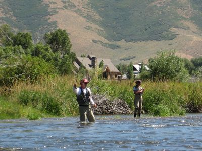 Fly Fishing on the Provo,