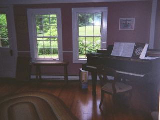 Ascutney farmhouse photo - Piano Room