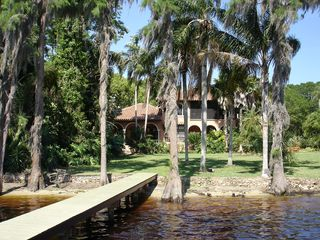 Tampa house photo - View of Main House from Lake