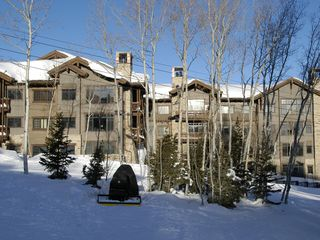 Deer Valley condo photo - Arrowleaf Lodge, from across Silver Buck ski run