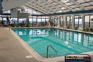 Capri Ocean City condo photo - Large in-door Heated Pool open All Year !!!