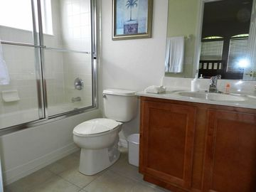 1 of the 4 En-suite bathrooms, for each bedroom