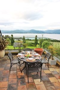 Rooftop Terrace overlooking Carlingford Lough to the Mourne Mountains