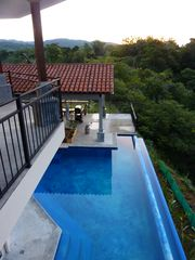 Playa Hermosa estate photo - View of Lap Pool From Balinese Master Suite