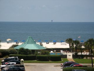 Gulf Shores condo photo - Closeup of balcony view