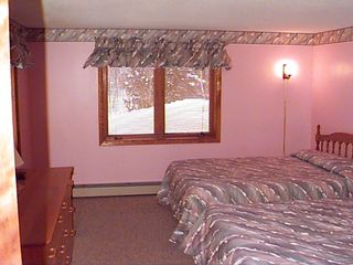 Bartlett townhome photo - one of 2 lower level bedrooms. 1 lowlvl bathroom shared between the two bedrooms