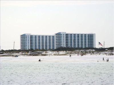 View of Palms of Destin from Henderson Beach