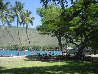 Beach Park 300 feet from Dolphin Bay House, great for snorkeling & sunbathing.