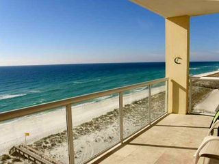 Navarre Beach condo photo - Gorgeous view from our spacious balcony!