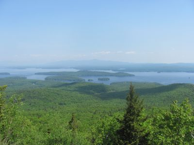 Alton cottage rental - View from the top of Mount Major, excellent family friendly hiking spot close by