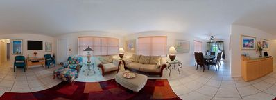 Panoramic of Living Room & Dining Area