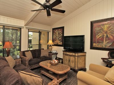 Main Living Area with Ceiling Fan