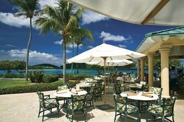 Coconut Cove for coctails, lunch and dinner, right at the beach!