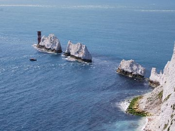 Stunning views of the Needles