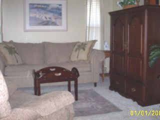 Vacation Homes in Marco Island house photo - den with queen sofa, tv, dvd player