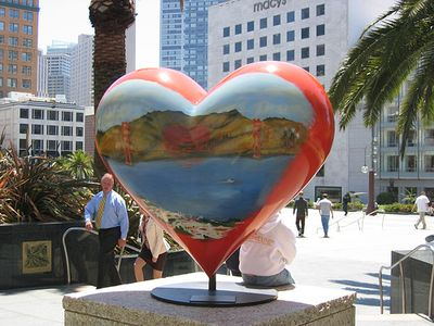 Leave your heart in SF only to return please :-)