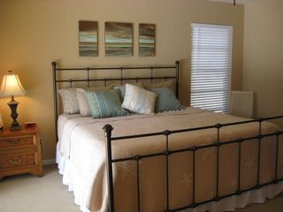Vacation Homes in Marco Island house photo - Master Bedroom Suite - New June 2011 Pillowtop King size bed; poolview & access