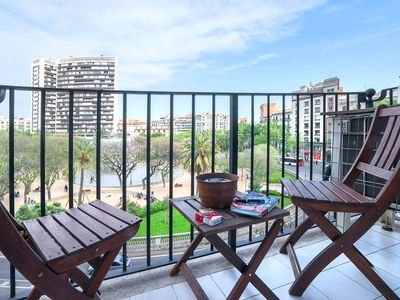 Brigth and spacious apartment with balcony!