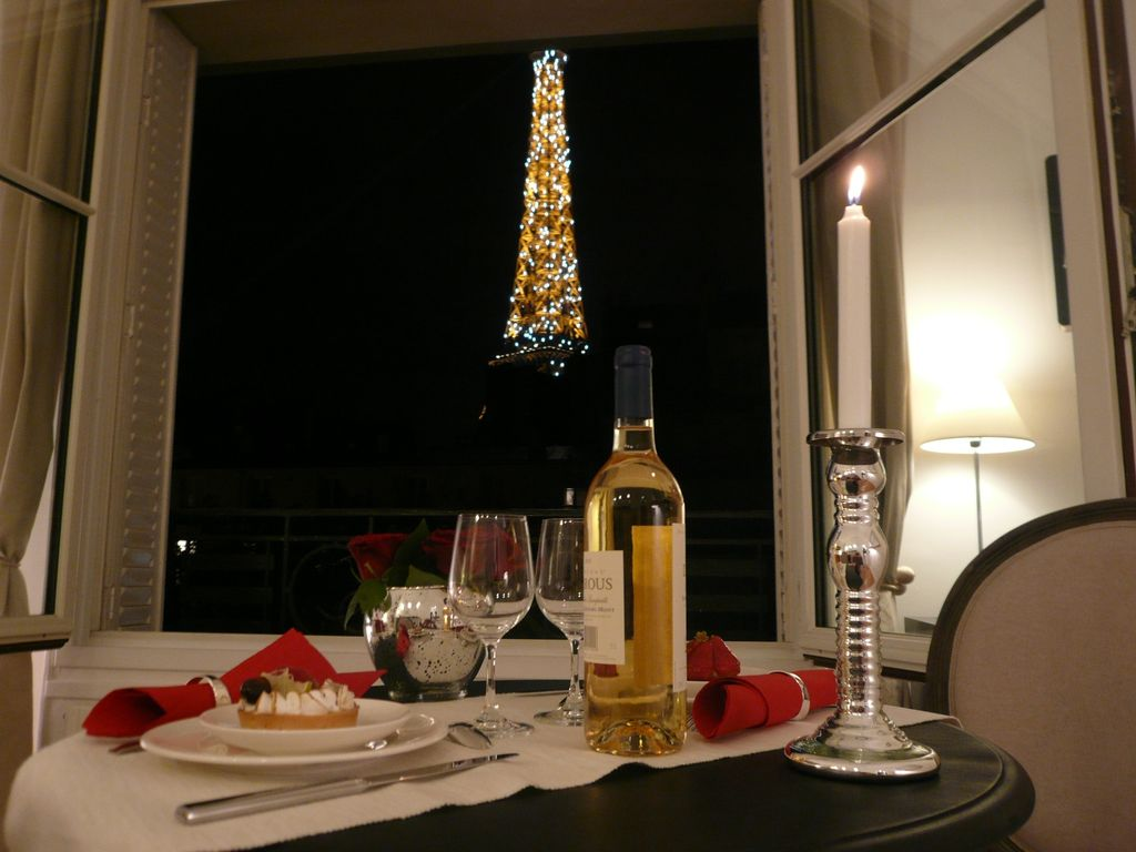 Apartment view eiffel tower homeaway gros caillou for Apartment in eiffel tower