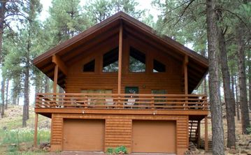 Flagstaff cabin rental - Front porch