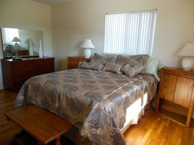 Grass Valley house rental - Luxurious prime resort quality queen beds mean great nights and greater days!