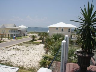 Pensacola Beach house photo - View of Santa Rosa Sound from upper level.