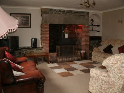 Holsworthy cottage rental - The Spacious Lounge