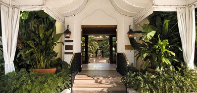 The Brazilian Court Hotel. AAA Four Diamond boutique hotel  in Palm Beach FL