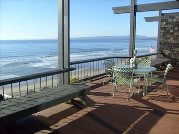 Santa Cruz house rental - Beautiful view from expansive deck