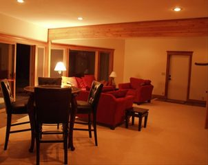 Lutsen lodge photo - Finished walkout basement w/2 levels of relaxation