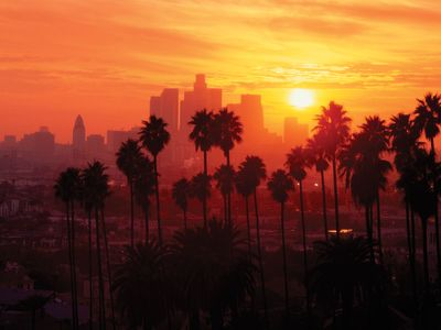 Sunsets in Los Angeles are beautiful!
